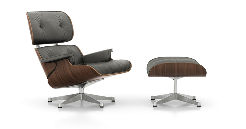Vintage Lounge Stoel.Vitra Lounge Chair