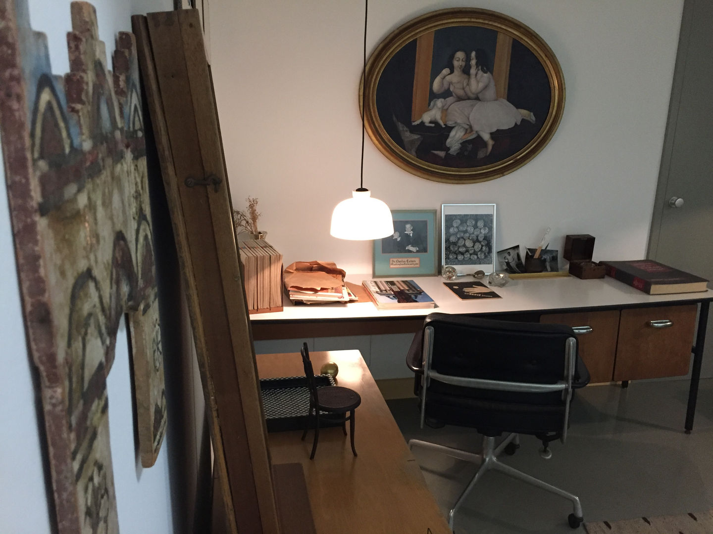 Vitra The Chair In Charles Eames Office