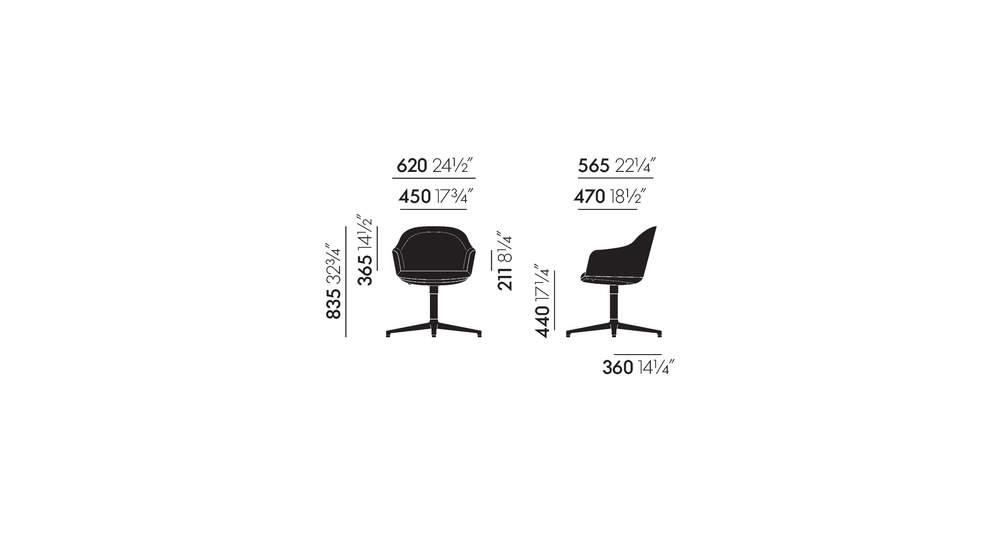 Softshell Chair four-star base