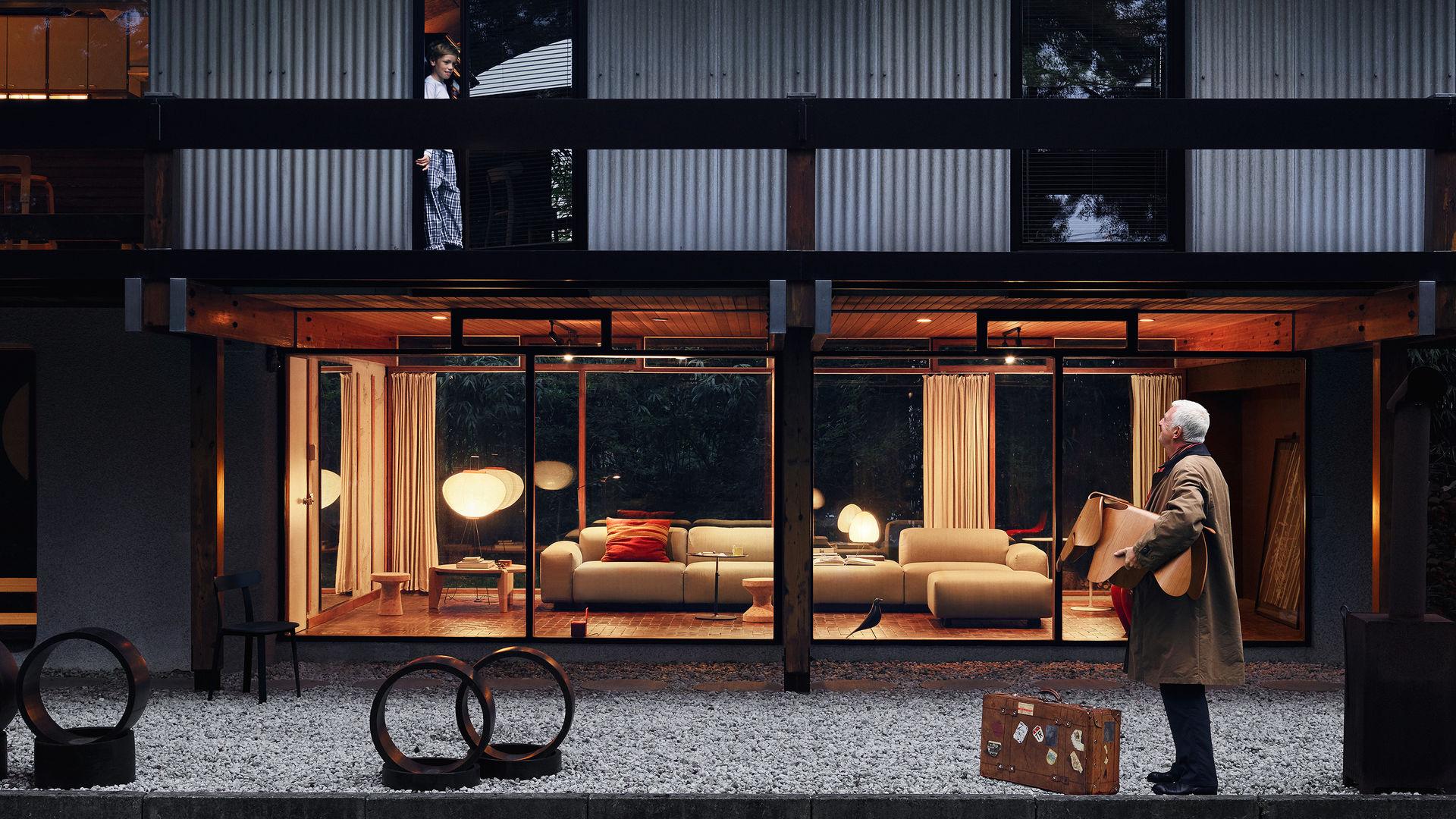 Eames Elephant (Plywood) Soft Modular Sofa Cork Family Akari 10A Guéridon Bas_web_16-9