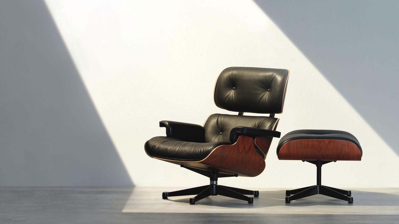 Eames Lounge Stoel.Vitra Lounge Chair