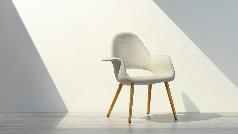 Vitra Design Stoelen.Vitra Het Origineel Komt Van Vitra Organic Chair