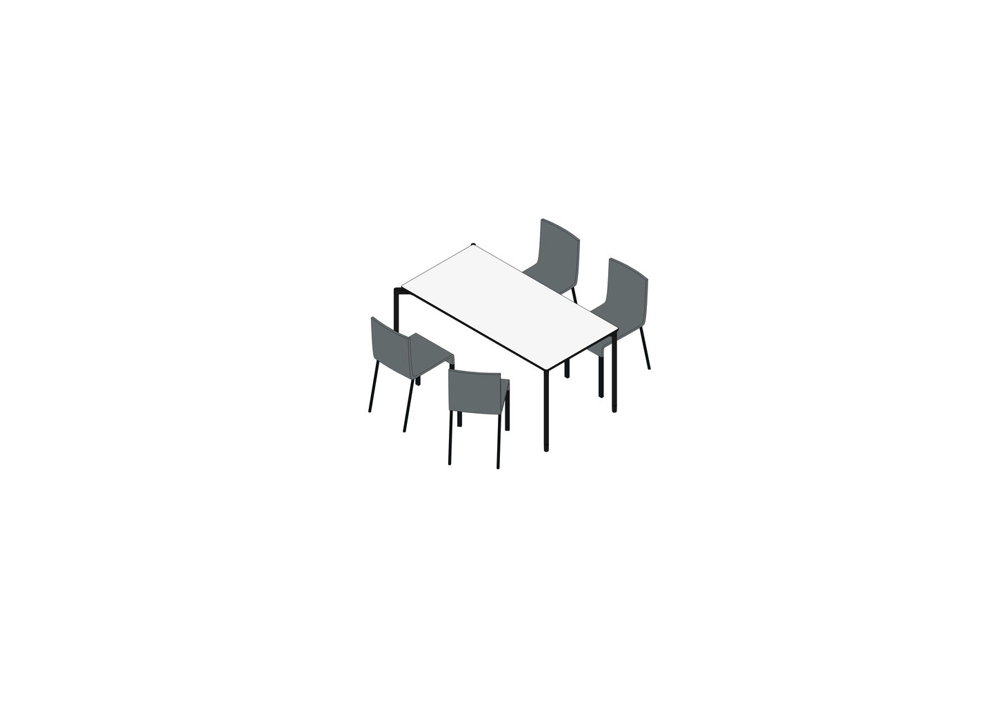 01 - MAP Table 150 x 75, .03 -3D