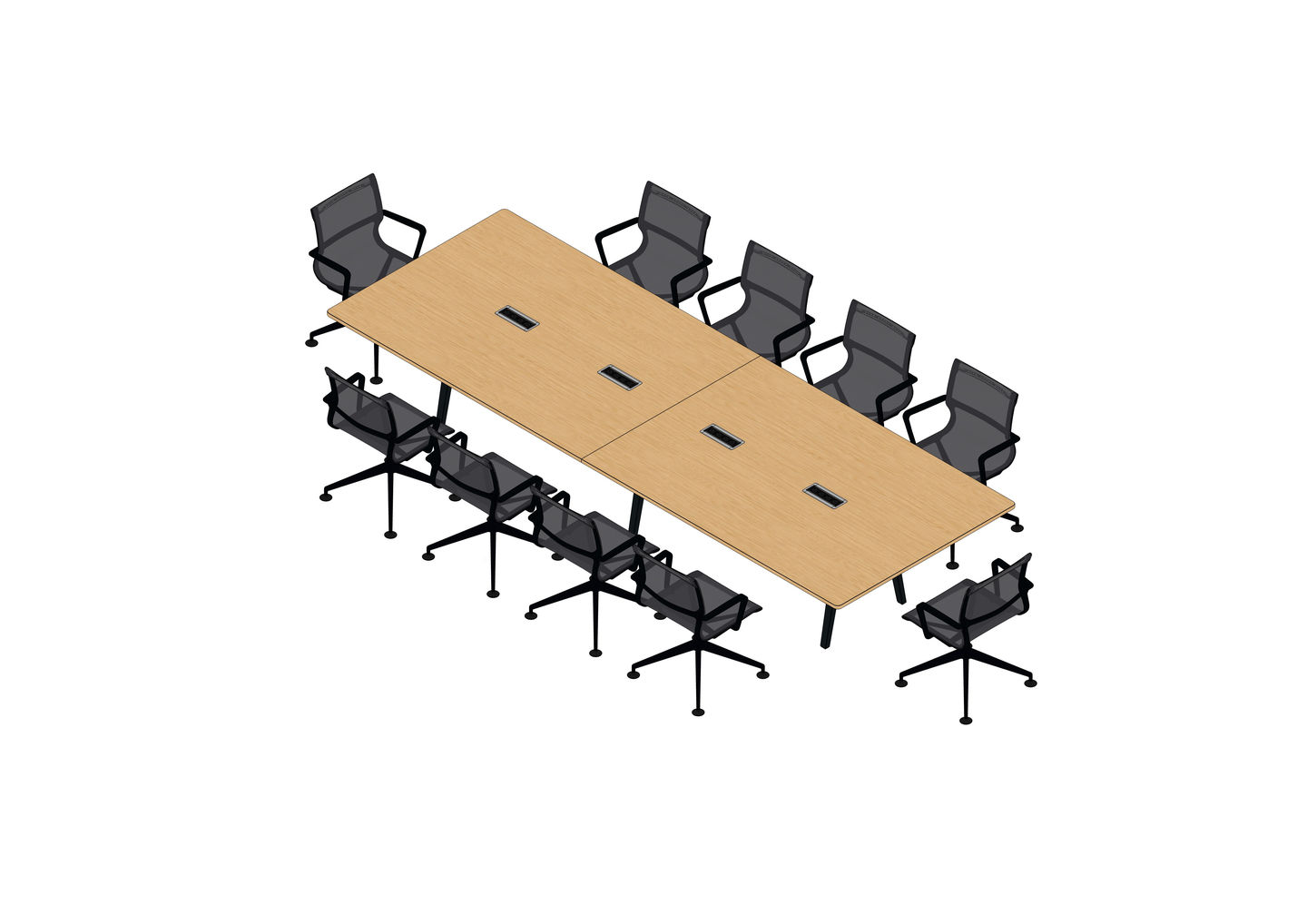 01 - Joyn Conference Bench 400 x 140, Physix Conference -3D