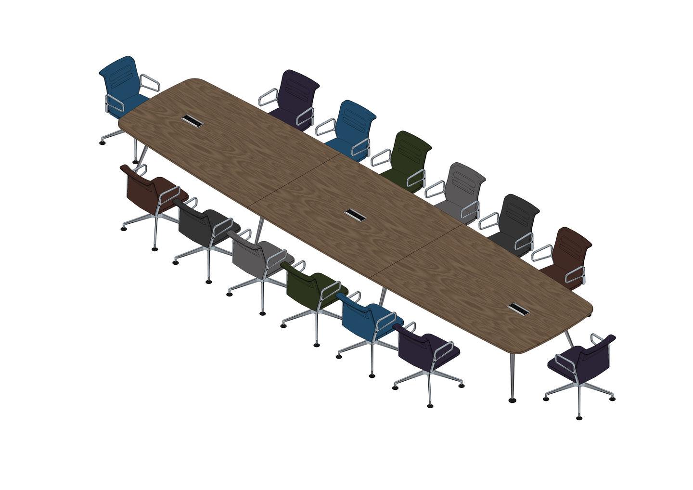03 - MedaMorph Table 600 x 140, AC5 Meet -3D