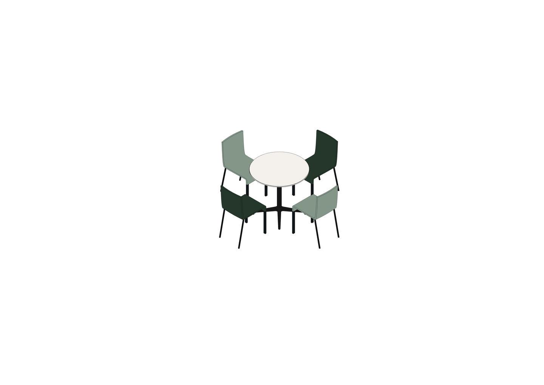05 - Bistro Table, .03 -3D