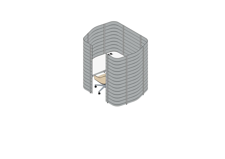 11 - Workbays Focus 1 high 15_20, Softshell Chair-3D