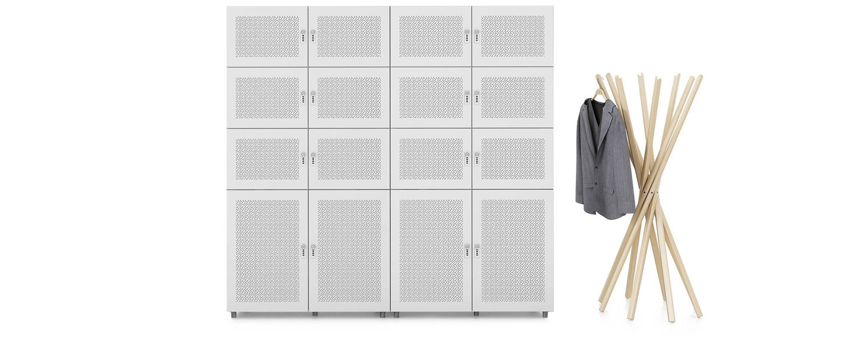 Storage Locker acoustic, 3 HU hinged doors acoustic_web_sub_hero