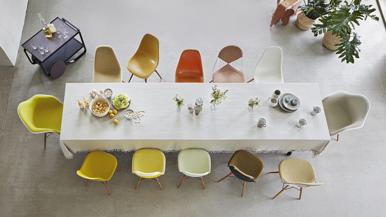 Plastic Design Stoelen.Vitra Eames Plastic Chair