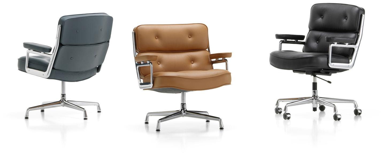 Bureaustoel Charles Eames.Vitra Lobby Chair