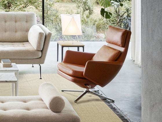 Vitra Lounge Chairs, Living Room Lounge Chair