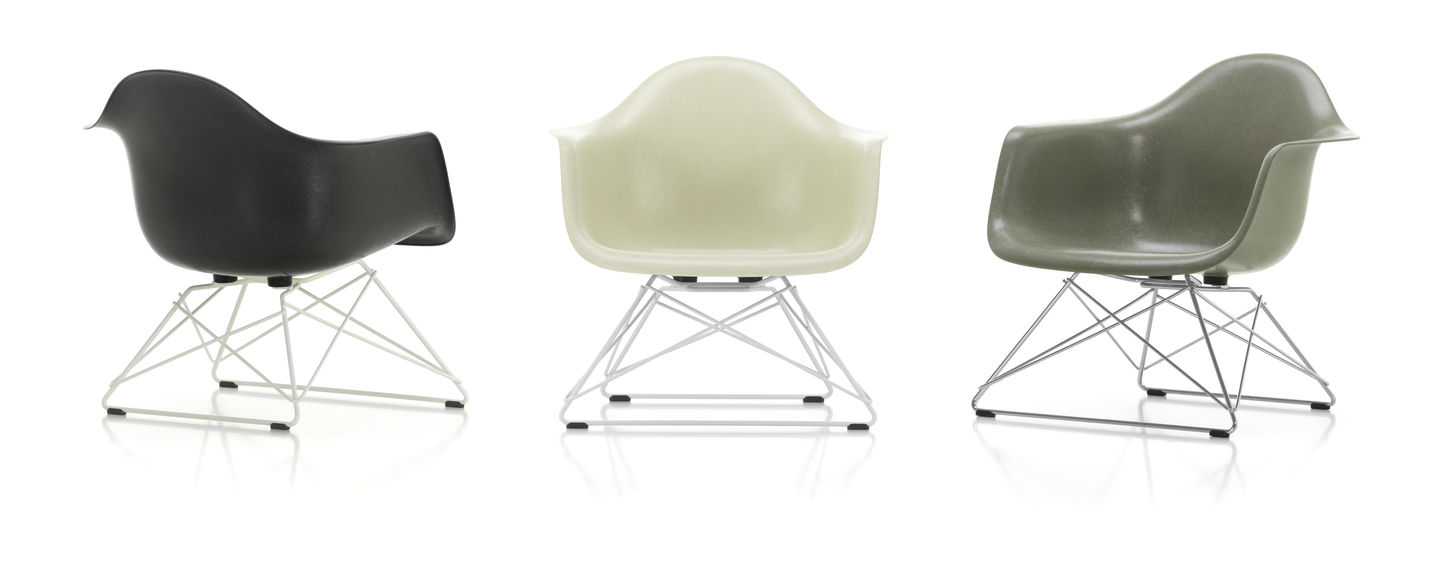 Eames Fiberglass Armchair LAR - 04 elephant hide-grey - 04 white powder-coated - right_web_sub_hero