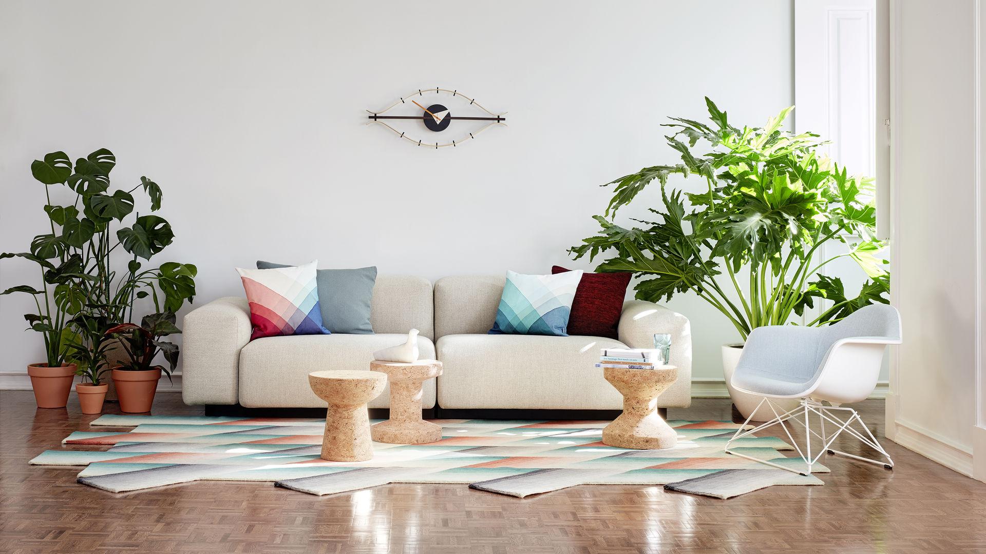 Soft Modular Sofa Eames Plastic Armchair LAR Eye Clock Herringbone Pillows L'oiseau marble Cork stools_web_16-9