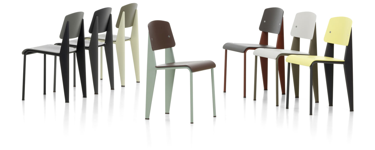 Vitra Prouvé Standard SP Chair | Connox